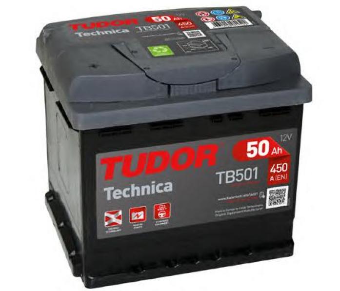 Аккумулятор Tudor Technica 50 А/ч TB501