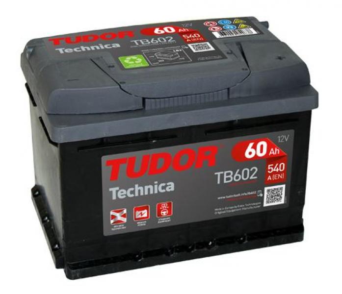 Аккумулятор Tudor Technica 60 А/ч TB602 ОБР