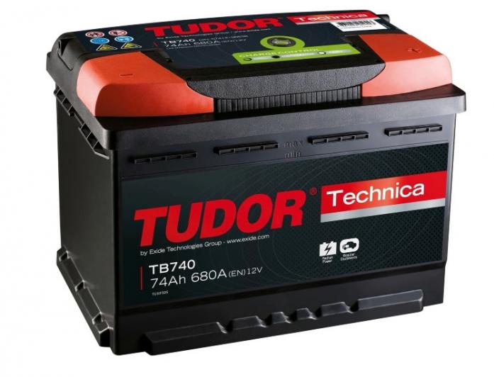 Аккумулятор Tudor Technica 74 А/ч TB740 ОБР