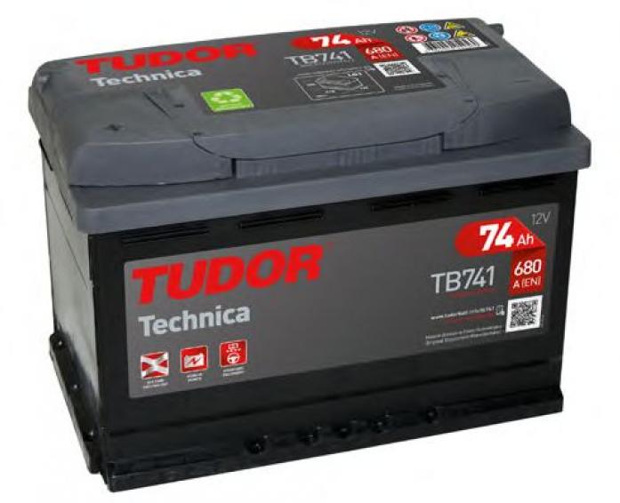 Аккумулятор Tudor Technica 74 А/ч TB741