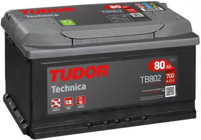 Аккумулятор Tudor Technica 80 А/ч TB802 ОБР
