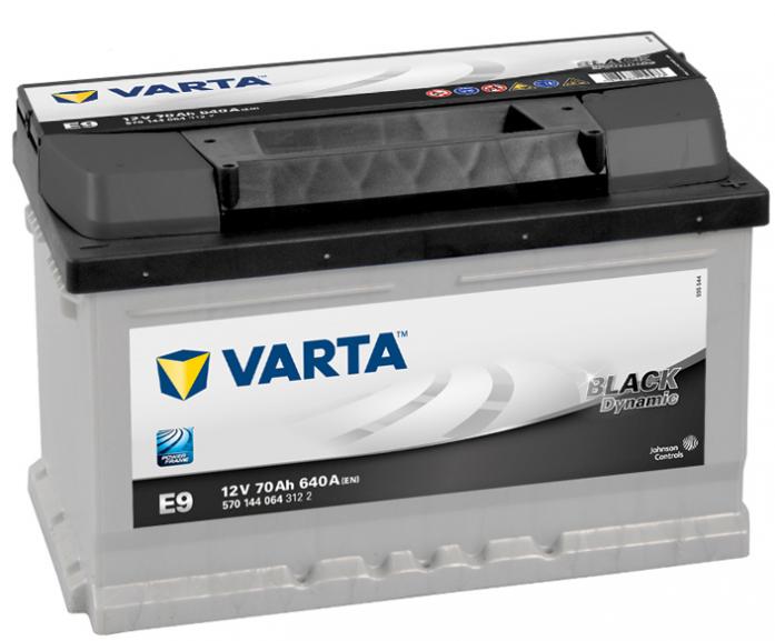 ����������� VARTA Black Dynamic 70 �/� 570144 ���� ��� E9
