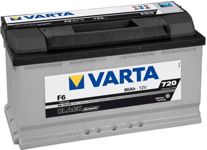 Аккумулятор VARTA Black Dynamic 90 А/ч 590122 ОБР F6