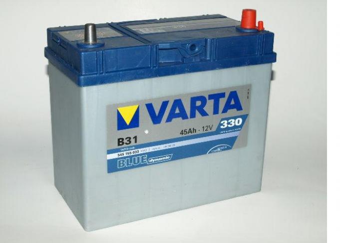 Аккумулятор VARTA Blue Dynamic 45 А/ч 545155 узк кл ОБР B31