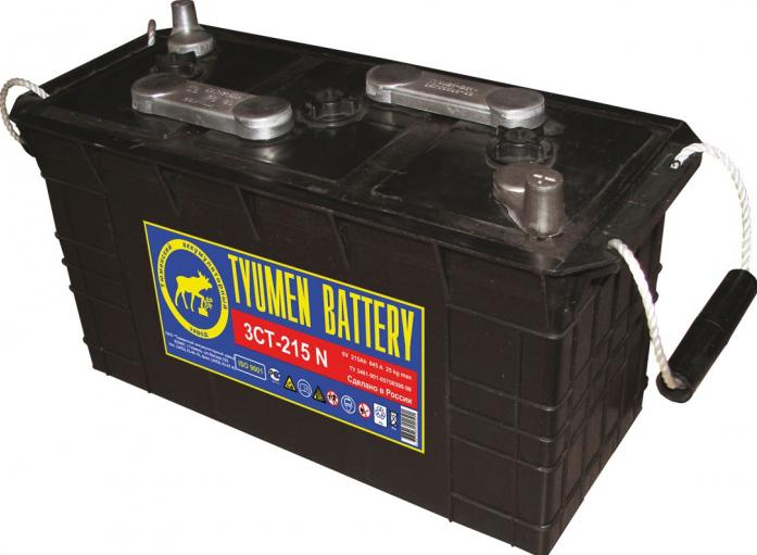 Аккумулятор TYUMEN BATTERY STANDARD 215 А/ч сухозаряженный