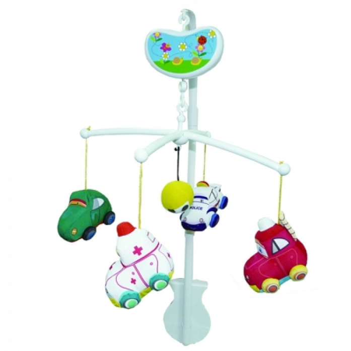 Мобиль Biba Toys Веселые машинки BM089