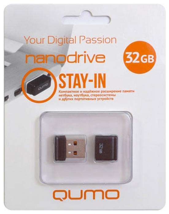 Накопитель QUMO Nanodrive, 32Gb USB 2.0