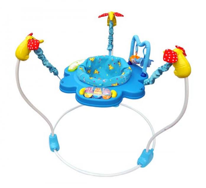 Прыгунки La-Di-Da с игрушками JP-1-101B
