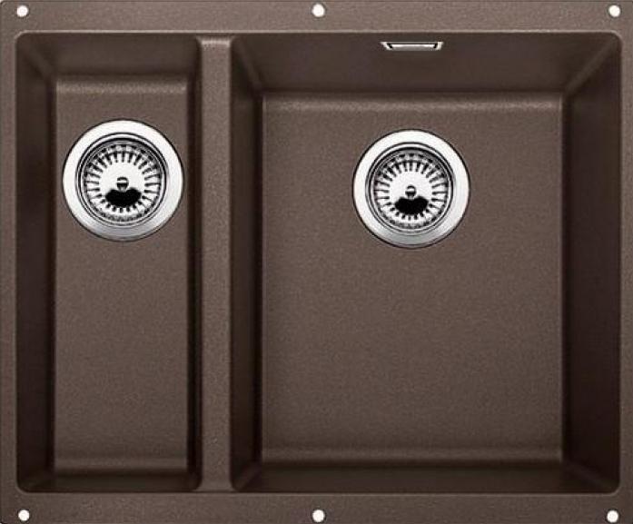 Кухонная мойка Blanco SUBLINE 340/160-U Кофе чаша справа SILGRANIT (520410)