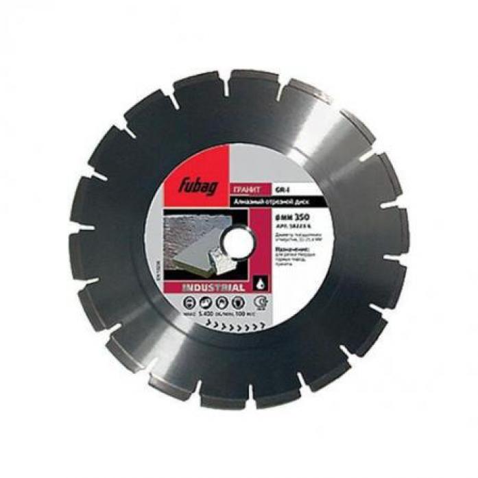Диск алмазный отрезной Industrial GR-I (500 мм; 30/25.4 мм) для плиткорезов FUBAG 58423-6