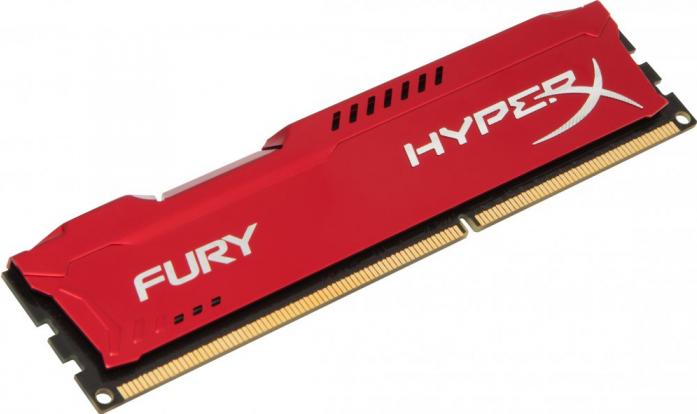 Оперативная память 8Gb DDR-III 1600MHz Kingston HyperX Fury (HX316C10FR/8)