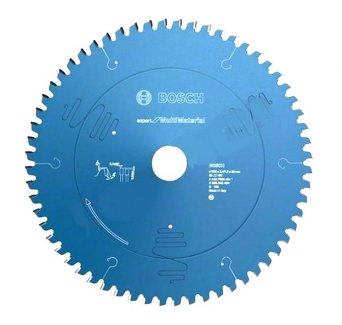 Диск пильный твердосплавный Bosch Expert for Multimaterial 210x30x2.4/1.8 54T