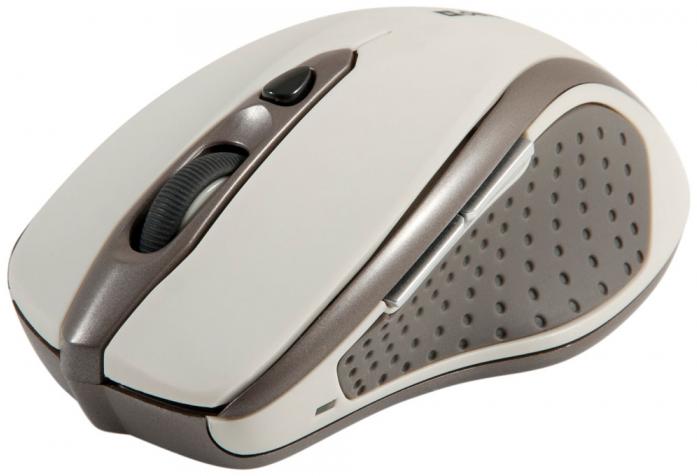 Беспроводная оптическая мышь Defender Safari MM-675 бежевый (52677)