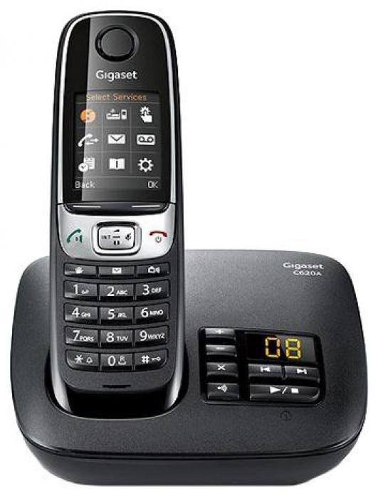 Телефон GIGASET C620A (DECT, автоответчик)