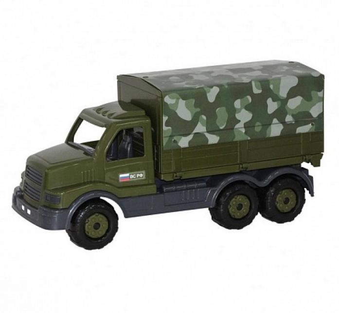 Автомобиль Полесье бортовой тентовый военный Сталкер 48646