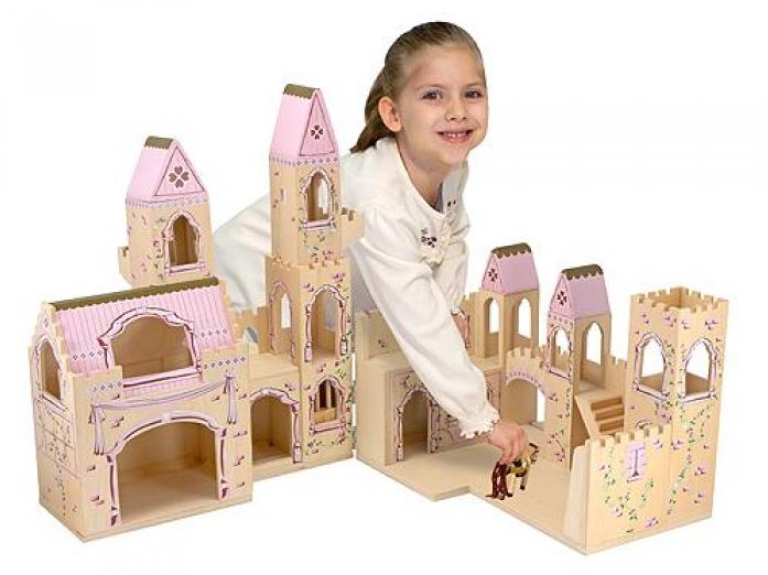 Игровой набор Melissa&Doug Создай свой мир: Складной замок принцессы 1263