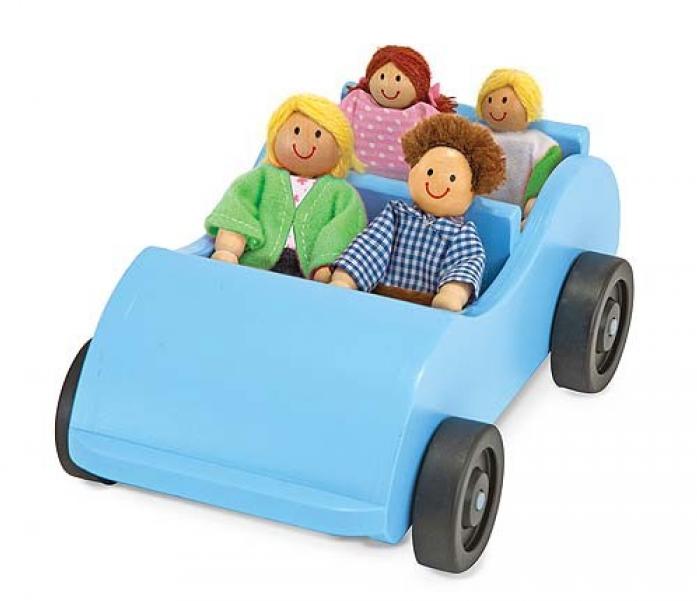 Машинка Melissa&Doug Машина и кукольная семья 2463