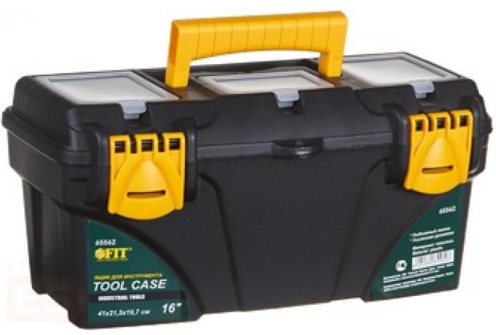 "Ящик пластиковый для инструмента 21"" FIT 65564 (530х275х290 мм)"