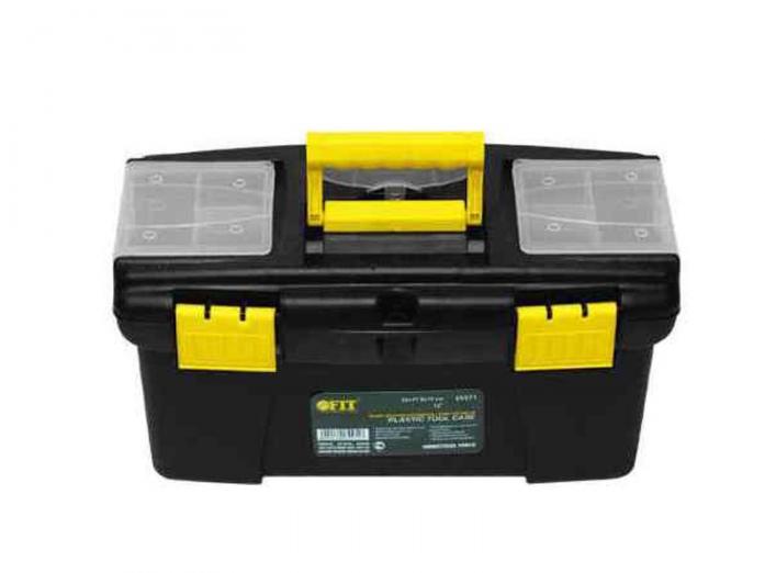 "Ящик пластиковый для инструмента 12"" FIT 65571 (320х175х160 мм)"