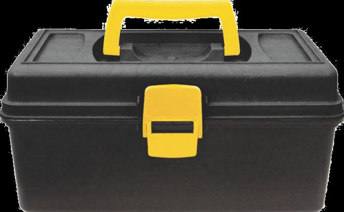 """Ящик для инструмента 13"""" FIT РОС 65494 (315х150х180 мм)"""