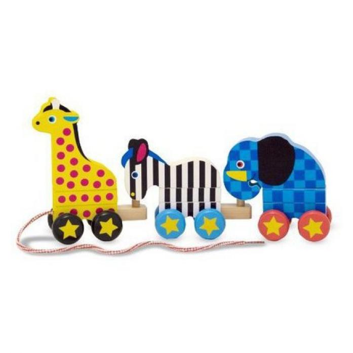 Каталка Melissa&Doug Классические игрушки: Зоопарк 289M