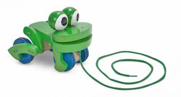 Каталка Melissa&Doug Мои первые игрушки: Лягушка 3021M