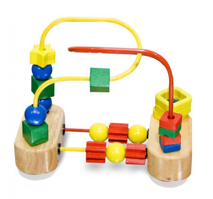Набор Melissa&Doug Классические игрушки: Лабиринт с фигурами 3042M
