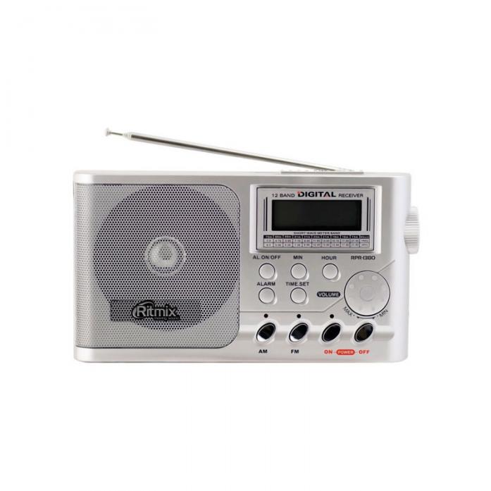 Радиоприемник Ritmix RPR-1380 серебристый