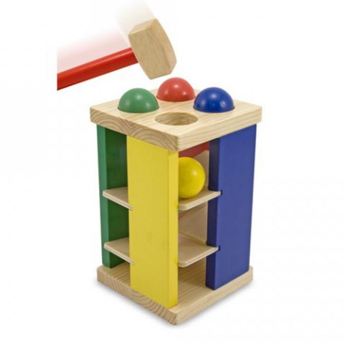 Набор Melissa&Doug Классические игрушки: Игра с молотком 3559