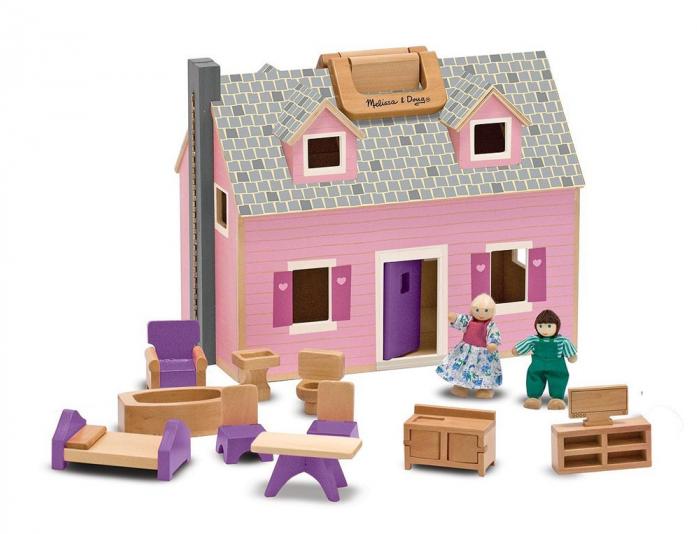 Набор Melissa&Doug Создай свой мир: Дом для кукол 3701M