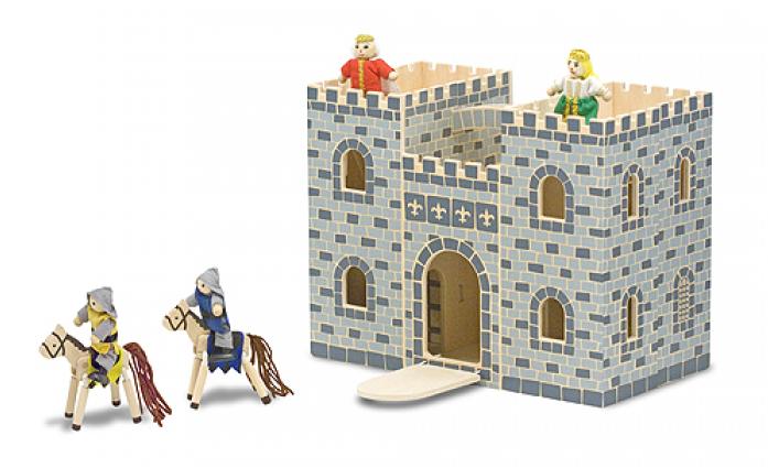 Набор Melissa&Doug Классические игрушки: Маленький замок Рыцарей 3702M