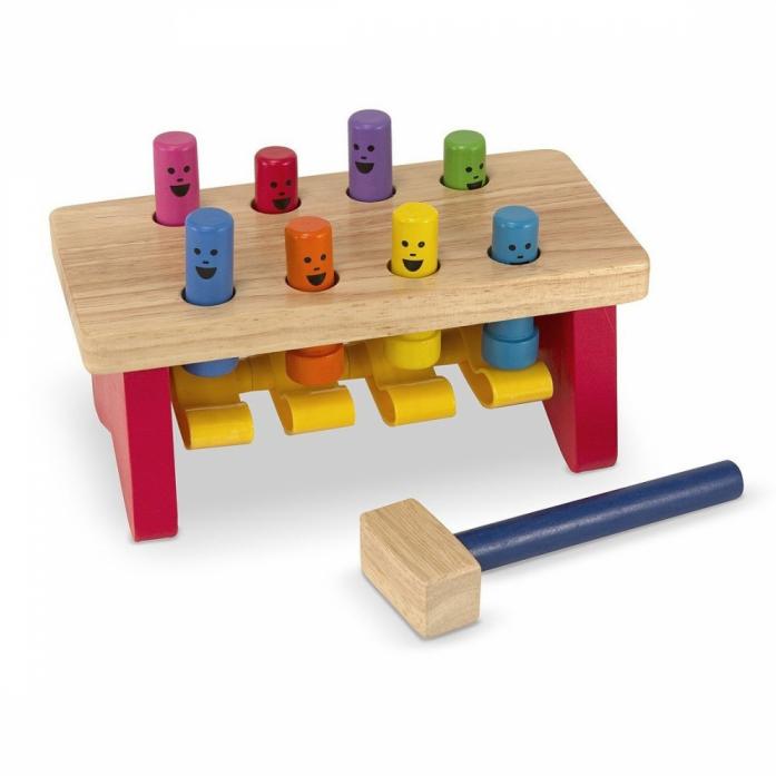 Набор Melissa&Doug Классические игрушки: забить в лунки Deluxe 4490