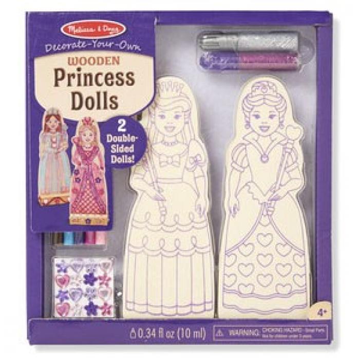 Набор Melissa&Doug Деревянные игрушки: Принцессы 9525