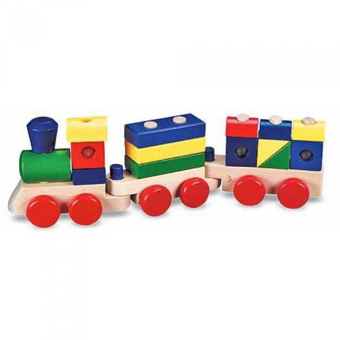 Набор Melissa&Doug Классические игрушки: Паровоз-конструктор 572
