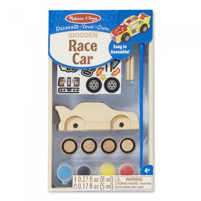 Машинка Melissa&Doug Классические игрушки: Деревянные гоночные машинки 8829