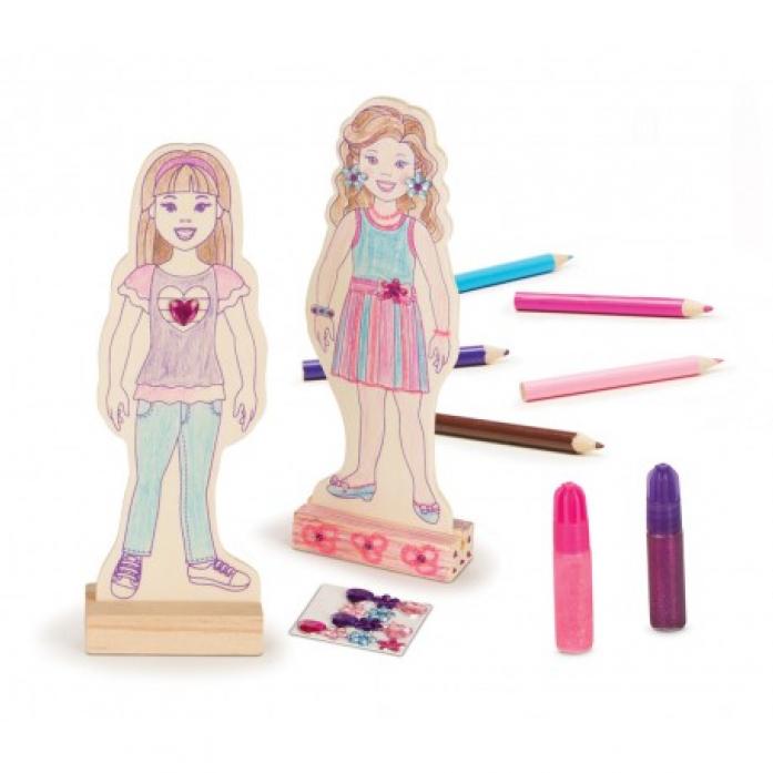 Набор Melissa&Doug Классические игрушки: Деревянные куклы 8859