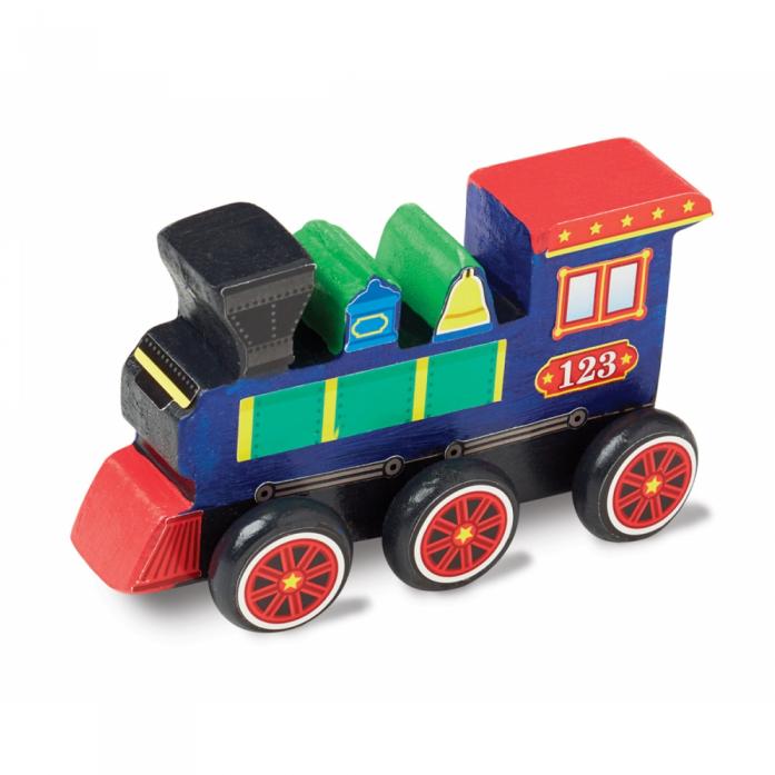 Машинка Melissa&Doug Классические игрушки: Деревянный поезд 8846M