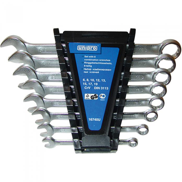 Набор комбинированных ключей Unipro 16740U