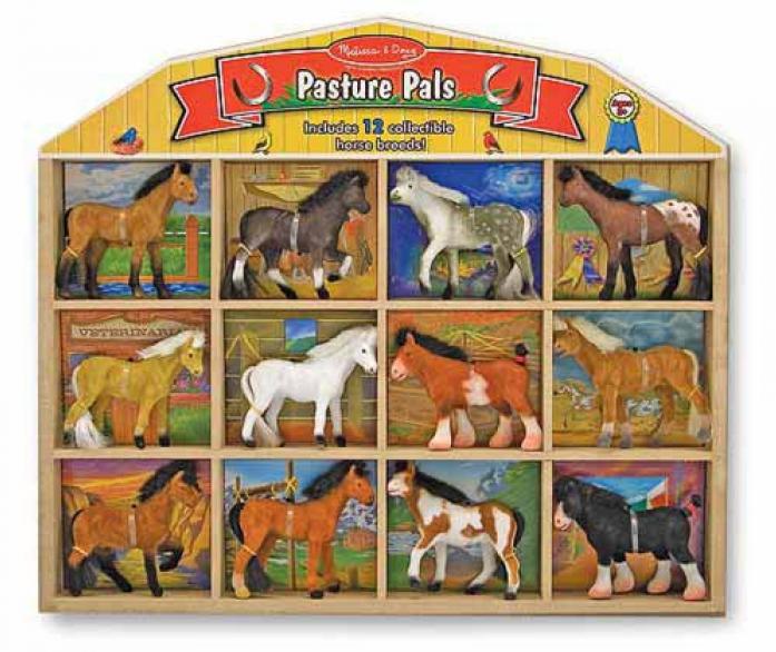 Набор Melissa&Doug Классические игрушки: Набор лошадок 592