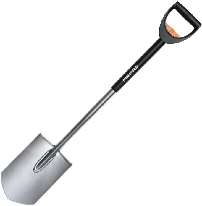 Телескопическая штыковая садовая лопата FISKARS 131300