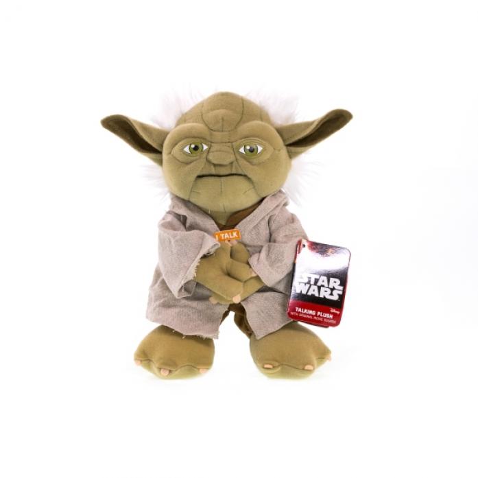 Игрушка Star Wars Йода плюшевый со звуком SW02367