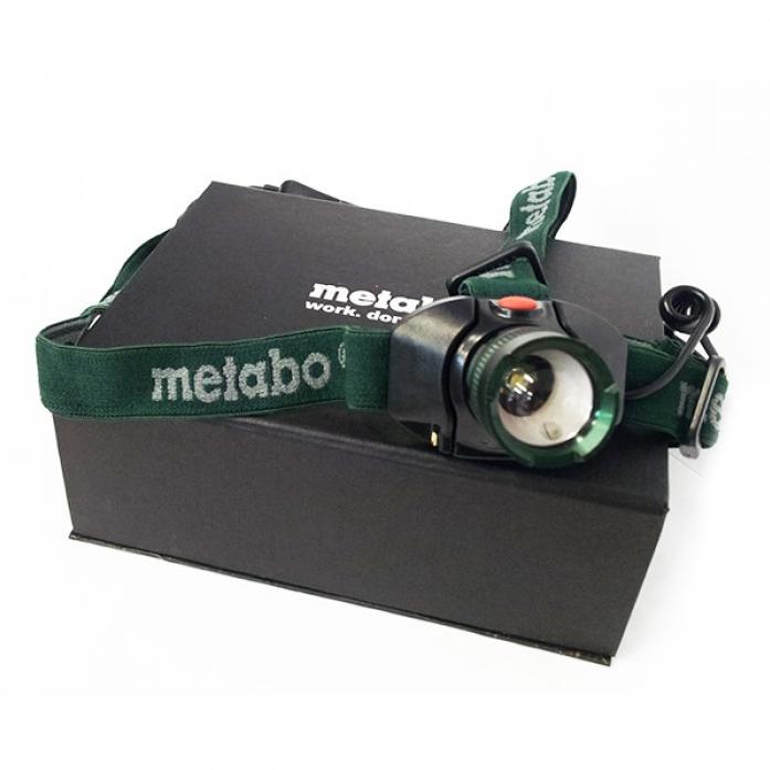 Фонарик светодиодный налобный Metabo 657003000