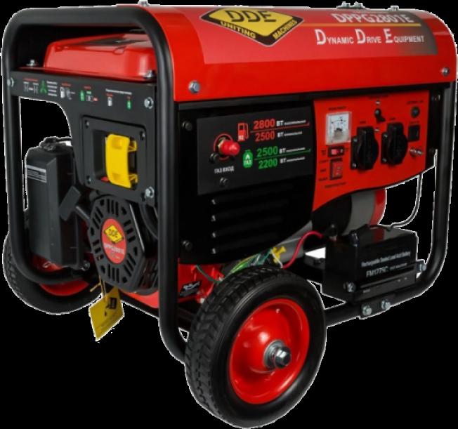 Генератор газ-бензин DDE DPPG2801Е
