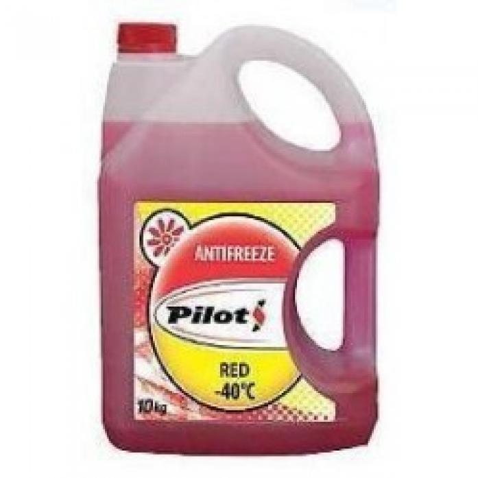 Антифриз PILOTS Red Line 40 красный (10кг) 3212