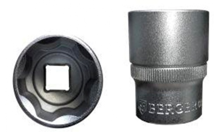 Головка торцевая 1/2 6-гранная Berger BG SuperLock 24 мм BG-12S24