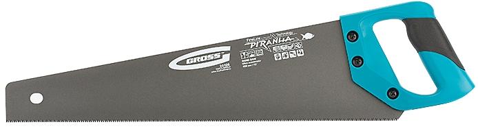 Ножовка по дереву 450 мм GROSS PIRANHA 24106
