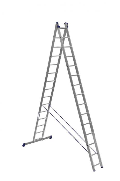 Лестница АЛЮМЕТ 2*15 6215