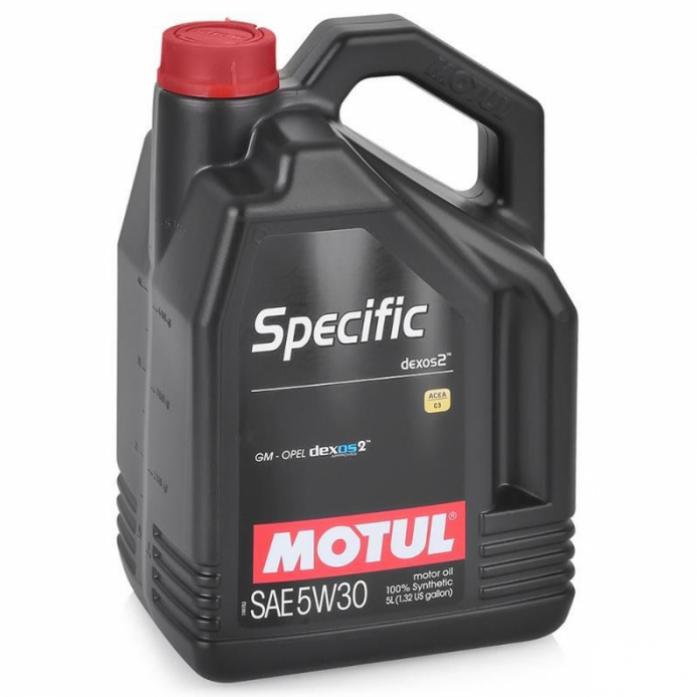 Масло моторное MOTUL Specific 5W30 DEXOS2 (5л) 102643
