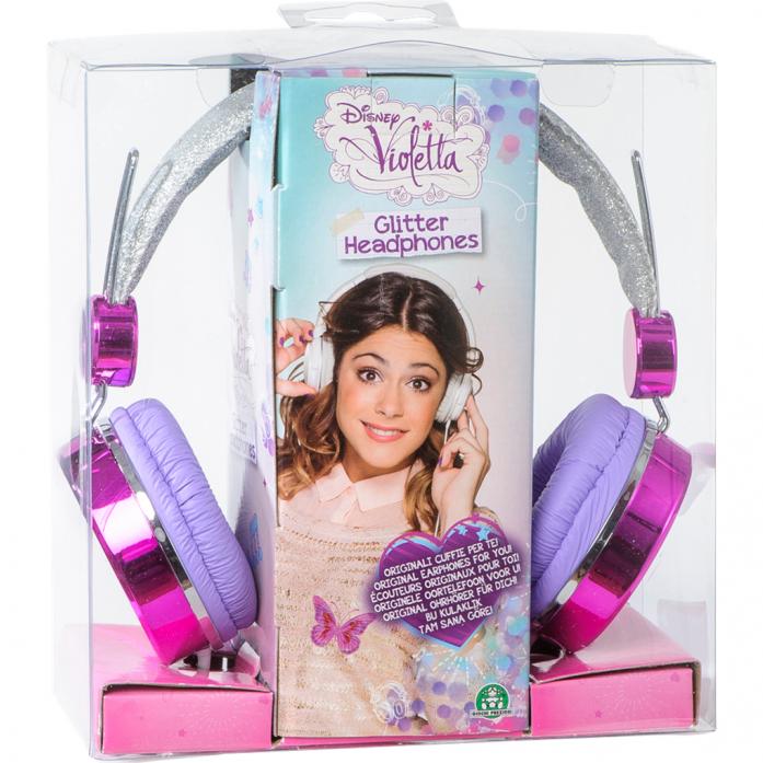 Наушники Violetta с блестками GPH02297