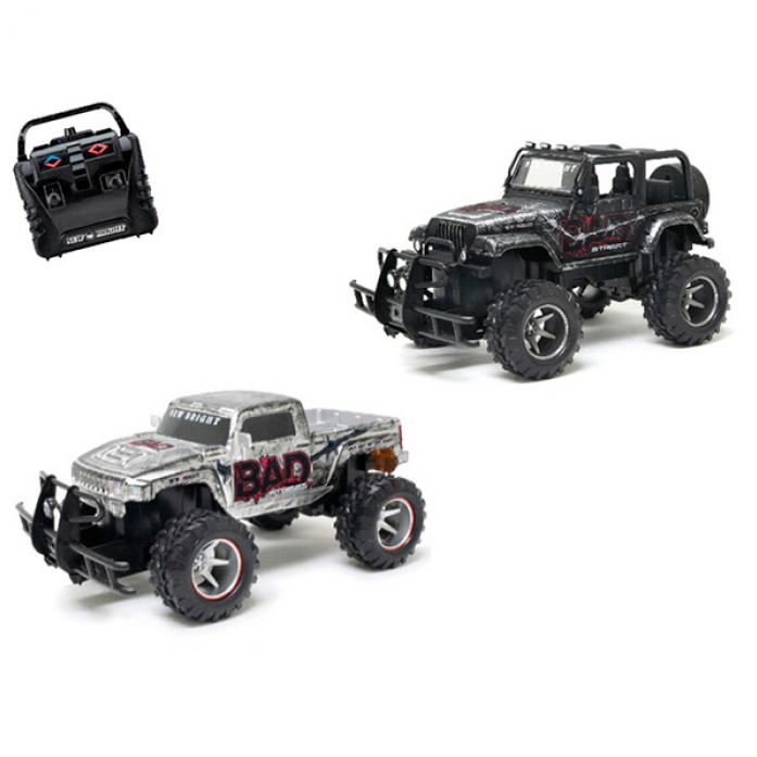Машина на радиоуправлении New Bright 1: 15 Bad Street - Jeep Hummer H3T 21580